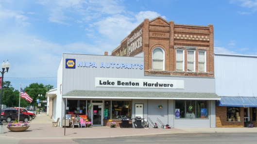 Lake Benton Hardware - Lake Benton, MN - July 2012