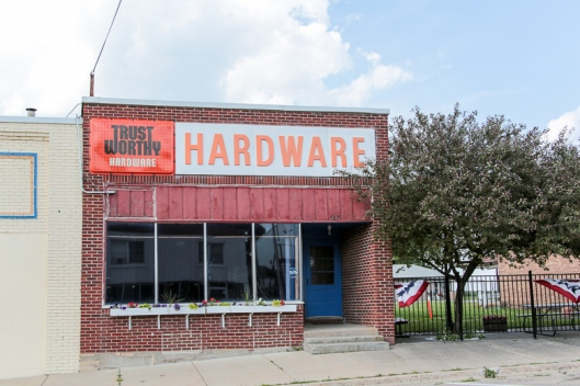 Trust Worthy Hardware Cleveland MN - June 2012